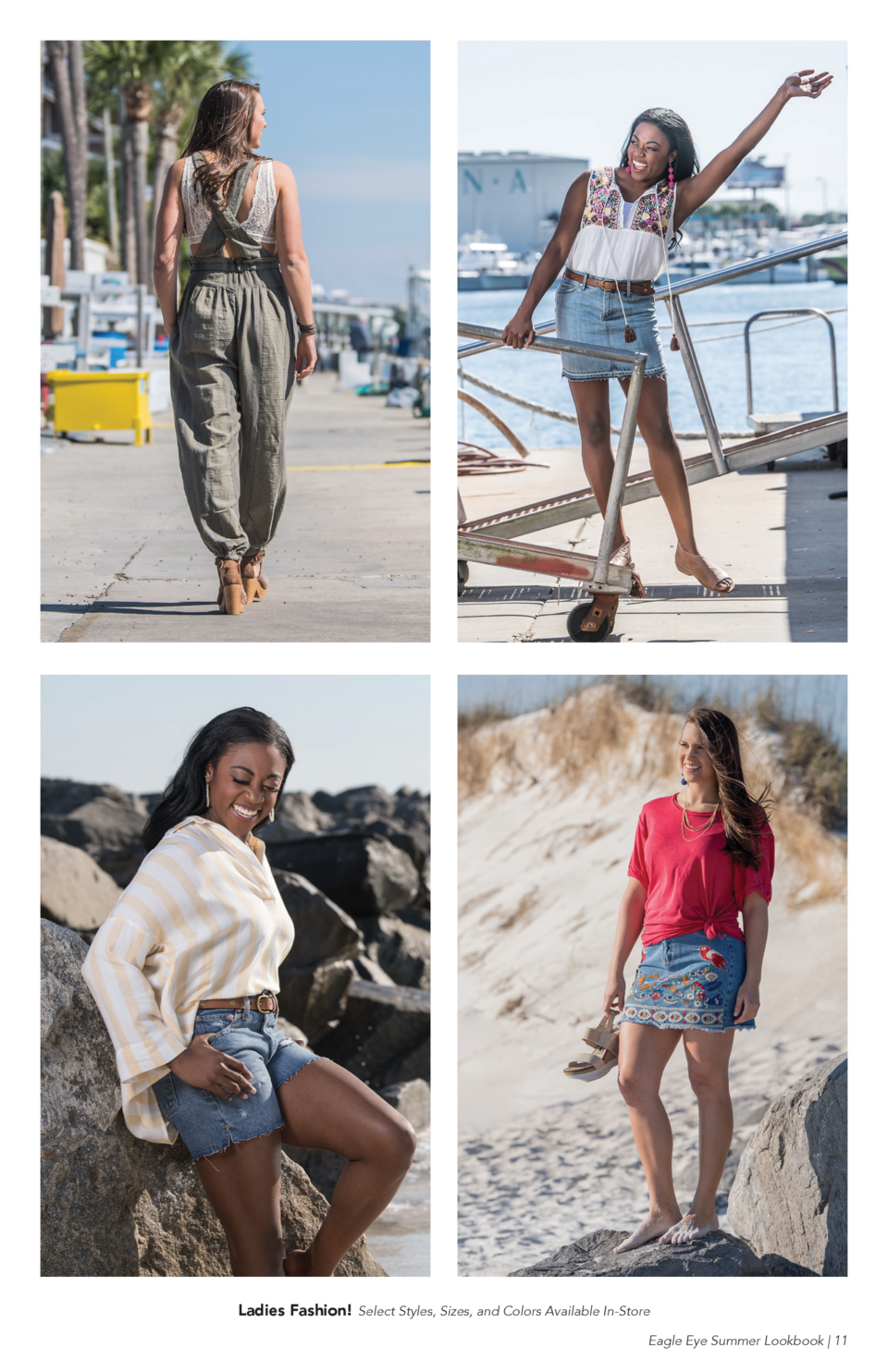 Ladies Fashion  Select Styles, Sizes, and Colors Available In-Store Eagle Eye Summer Lookbook   11